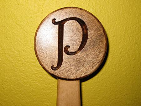 Custom Carved Practice Sword