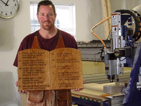 Ten Commandments Wall Plaque