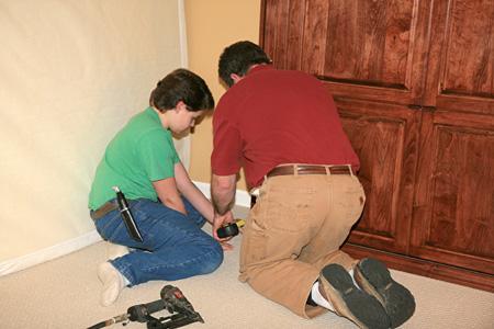 Installing Custom Murphy Bed