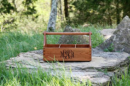 Monogrammed Grooming Box