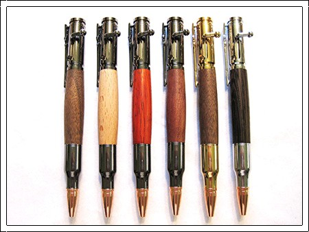 30 Caliber Bolt Action Pens