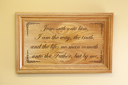 John 14 6 Wall Art Framed copy